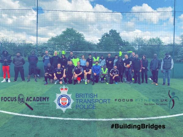 #buildingbridges Our students playing a match against BTP.